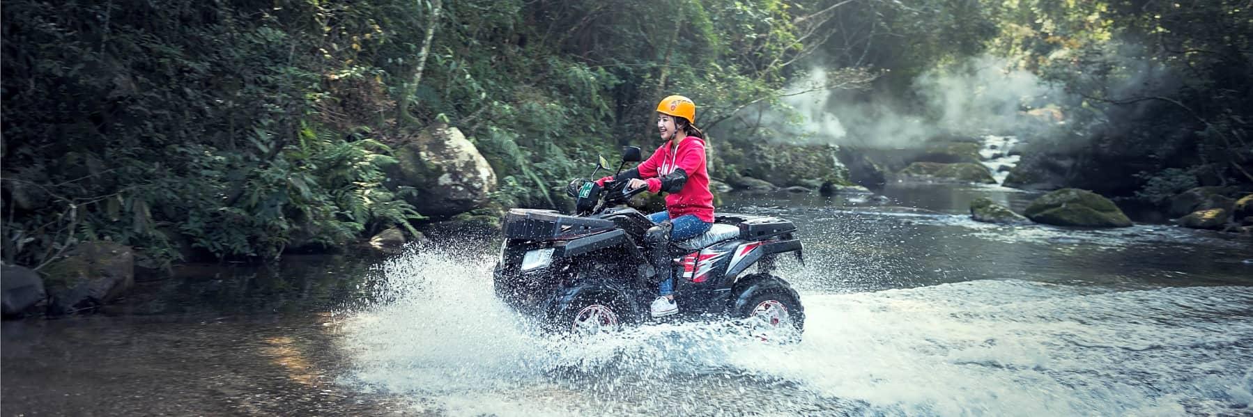 Ubud Monkey Forest & Tibumana Waterfall ATV Tour – Full Day gallery