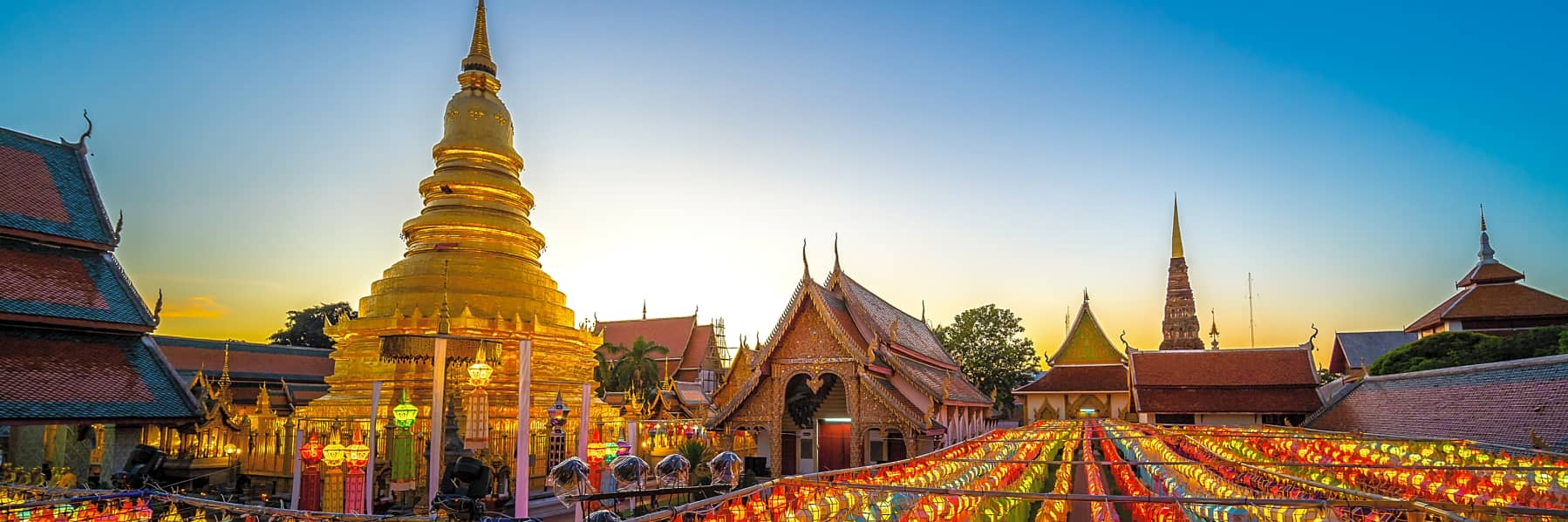 Lamphun and Lampang City Temples Small Group Tour – Full Day gallery
