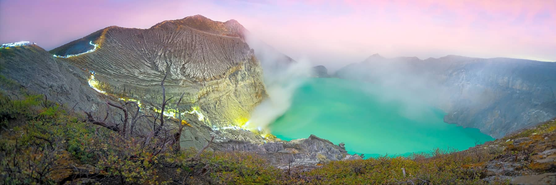 Mount Ijen Crater Volcano Midnight Trekking Tour from Bali – Full Day gallery