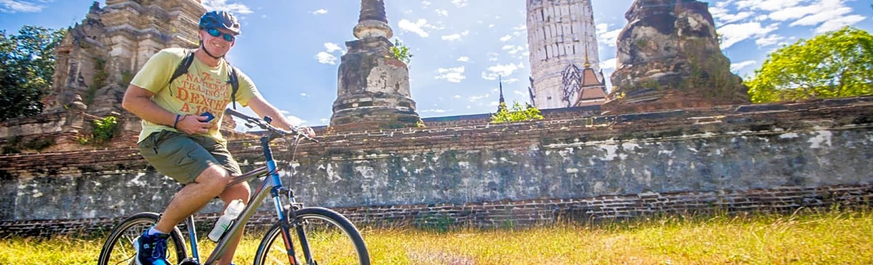 Day Trip Biking Through Historic Ayutthaya gallery