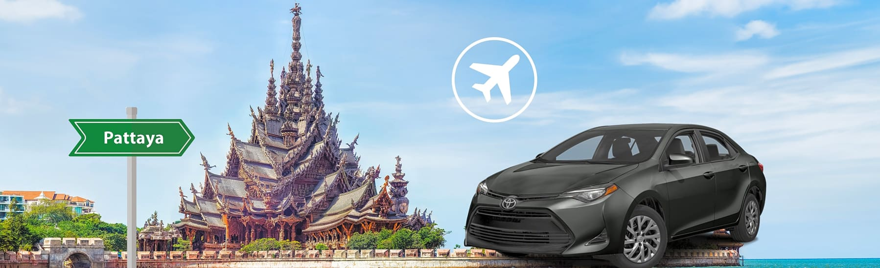 Private Car Transfer Services from Bangkok -BKK Airport to Pattaya  gallery