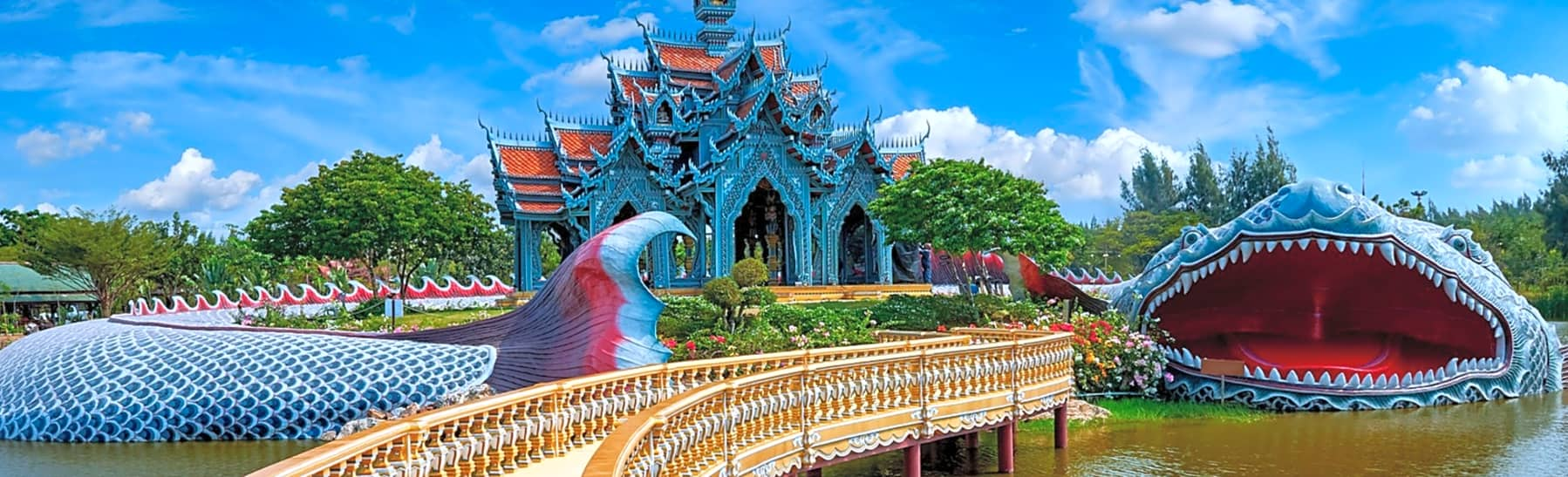 Ancient Siam Bike Tour from Bangkok Includes Transport – Half Day gallery