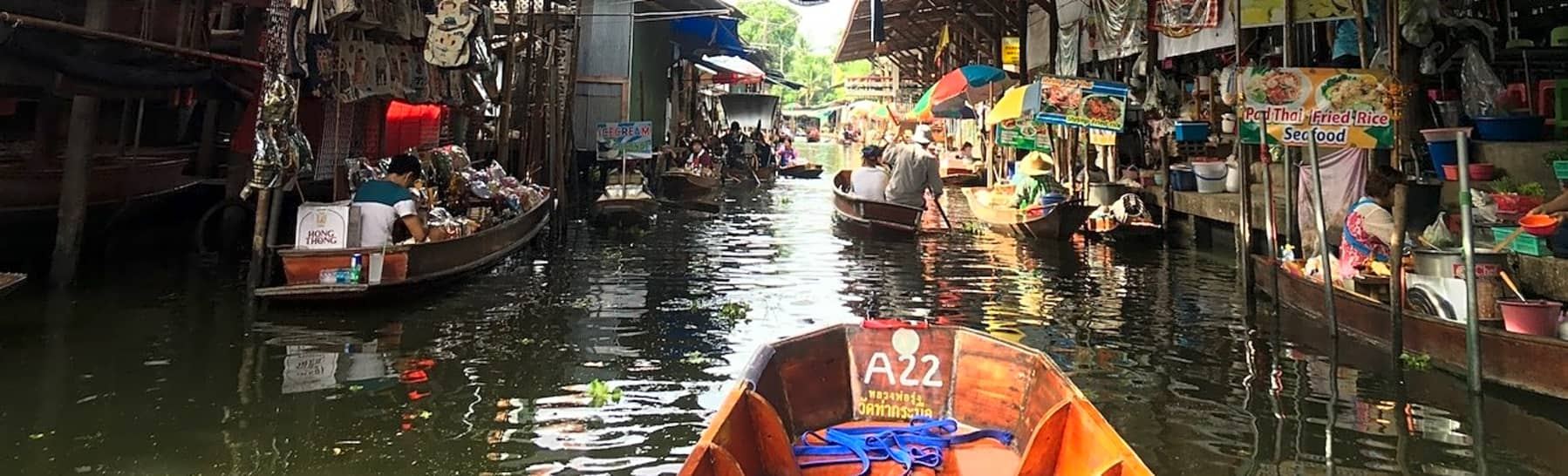 Day Trip to Bangnamphung Floating Market  gallery