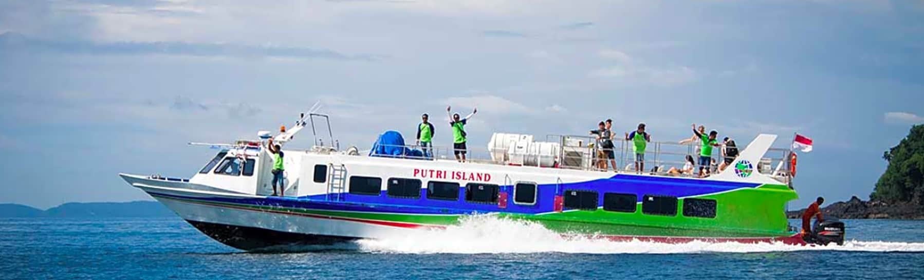 Bali to Gili Trawangan, Air, or Lombok, Fast Boat Return/Round Transfer  gallery