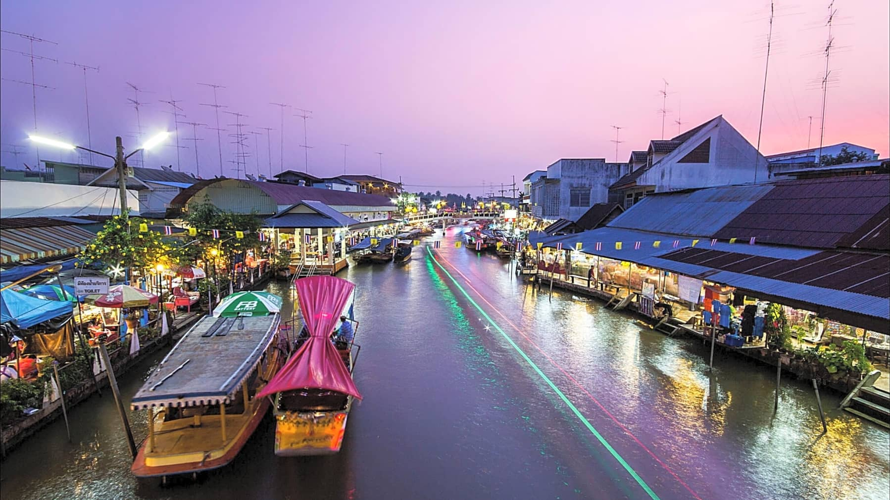 Dining Cruise Experience at Amphawa Floating Market  gallery