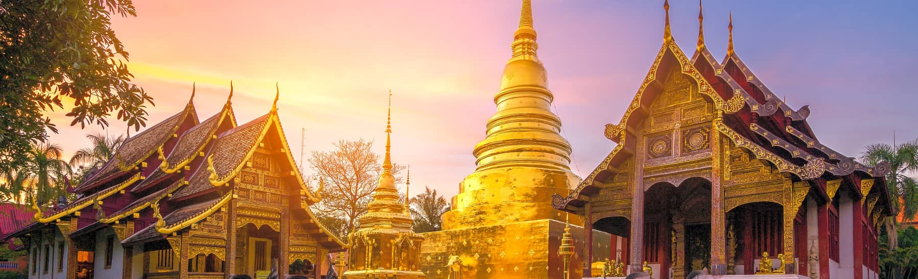 Wat Umong and Doi Suthep Temples Sunset Tour – Half Day  gallery