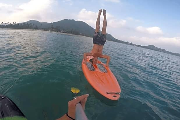 Stand Up Paddleboards >> Stand Up Paddleboarding In Lamai Beach