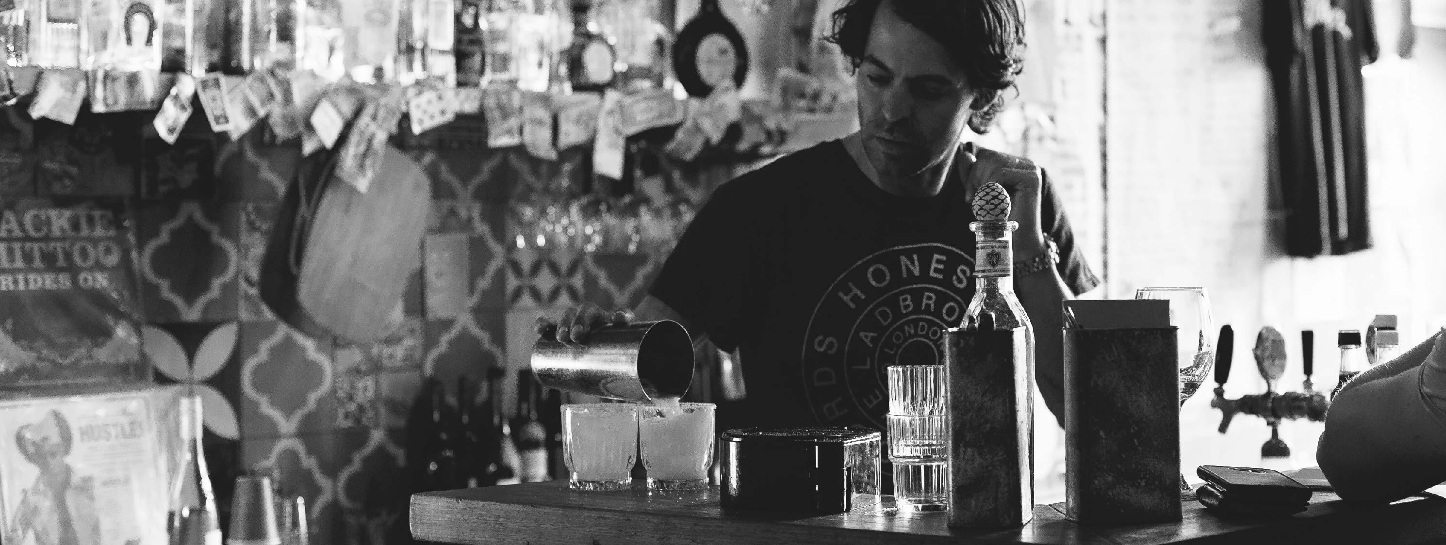 Little Hop bar in Melbourne, Australia