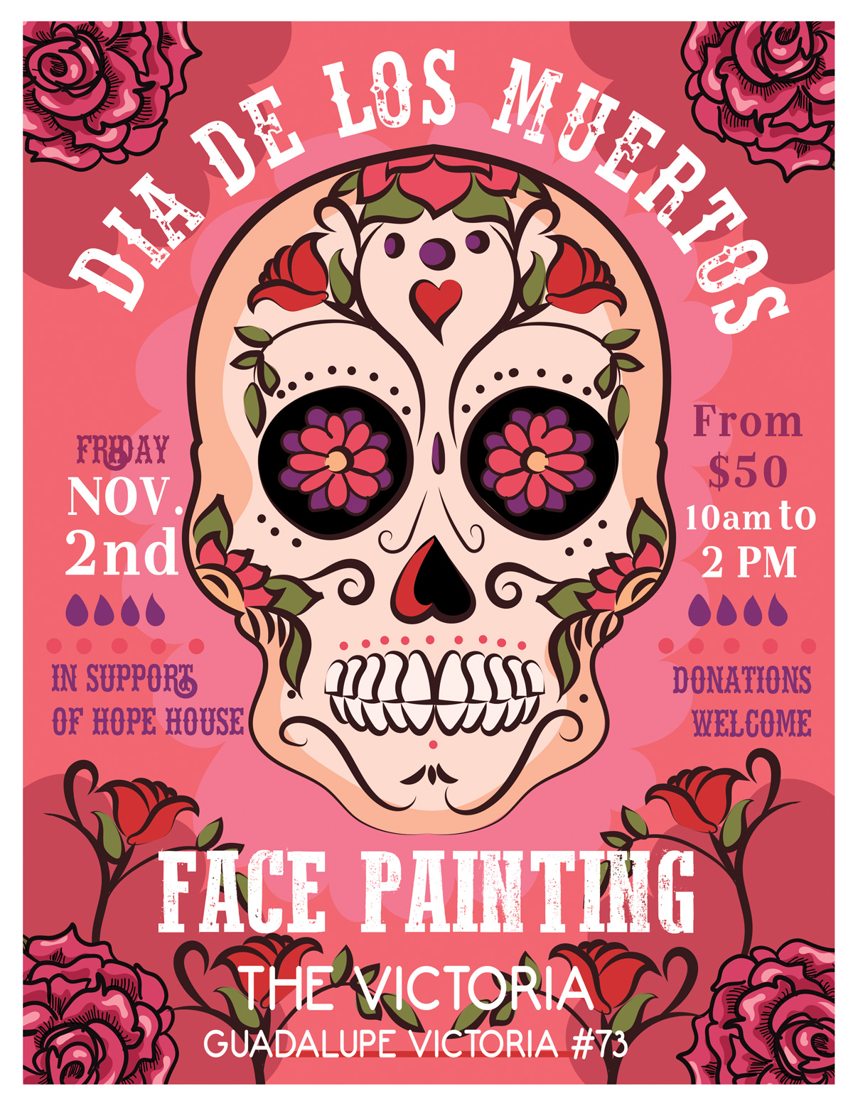 Dia De Los Muertos – A Fundraiser for Hope House