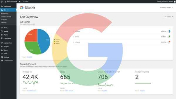 Google Site Kit WordPress Plugin.