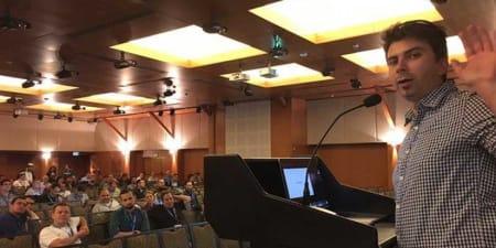 Gary Illyes at SMX Israel Keynote Speech.