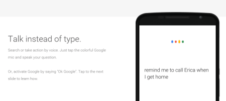 The Google app – Voice Search Answers and Assistance.