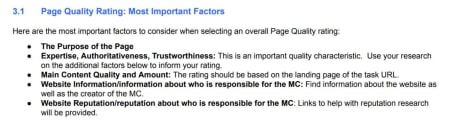Google Raters Guidelines.