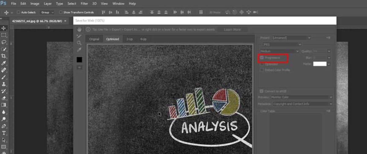 Progressive JPEGs - How to improve website speed | The Webmaster