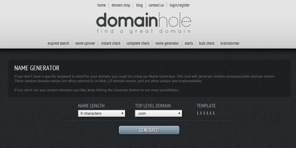 Domain Hole.