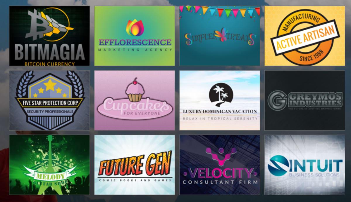 GoDaddy logo Design Gallery – Professional Web Services.