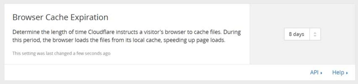 Browser cache.
