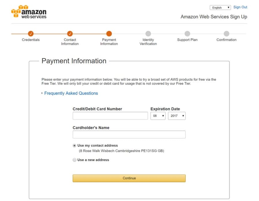 Amazon Web Services Free Tier Offer + Coupon | September 2019
