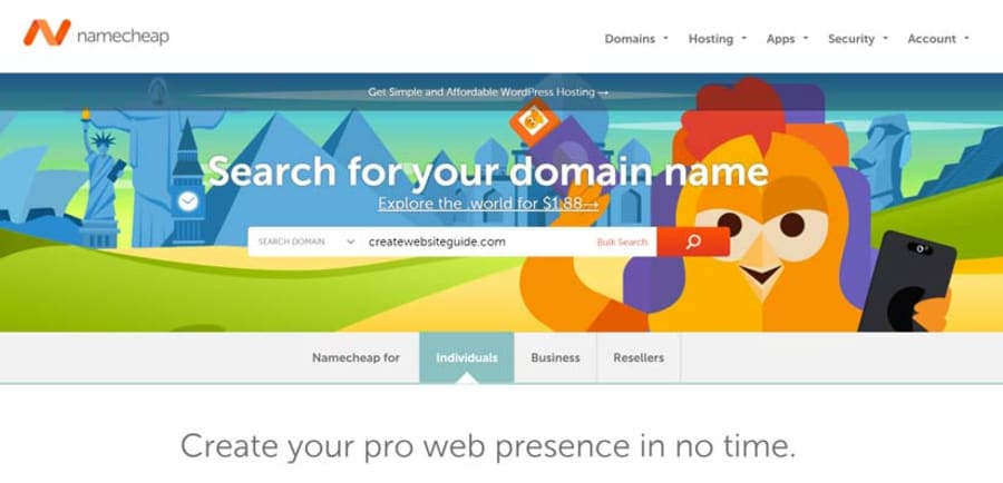 How To Register A Domain Name The Webmaster