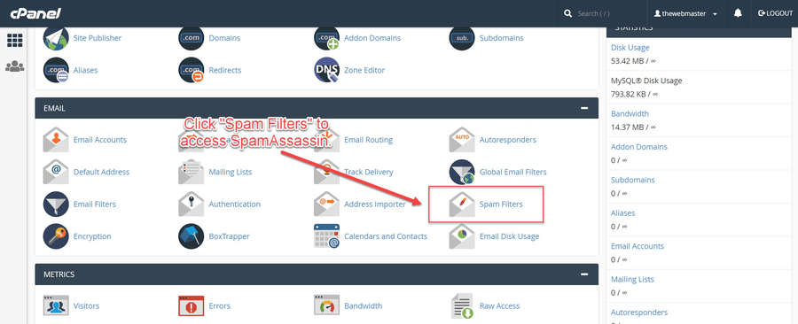 How to Configure the Best SpamAssassin Settings in cPanel