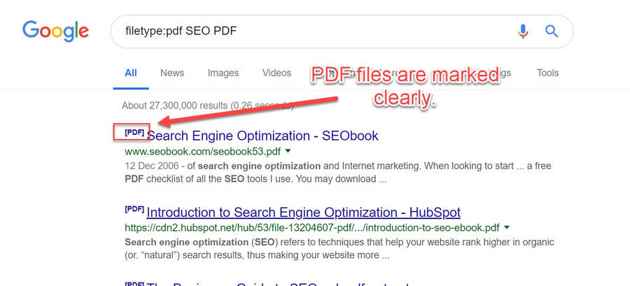 Does Google index PDF files and content? | The Webmaster