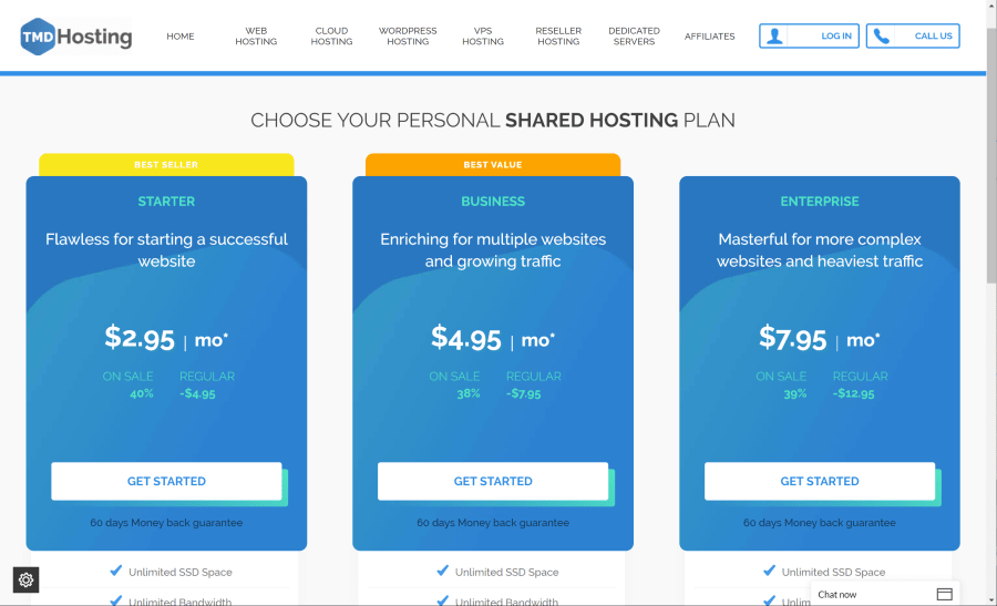 Choose Your Web Hosting Plan.