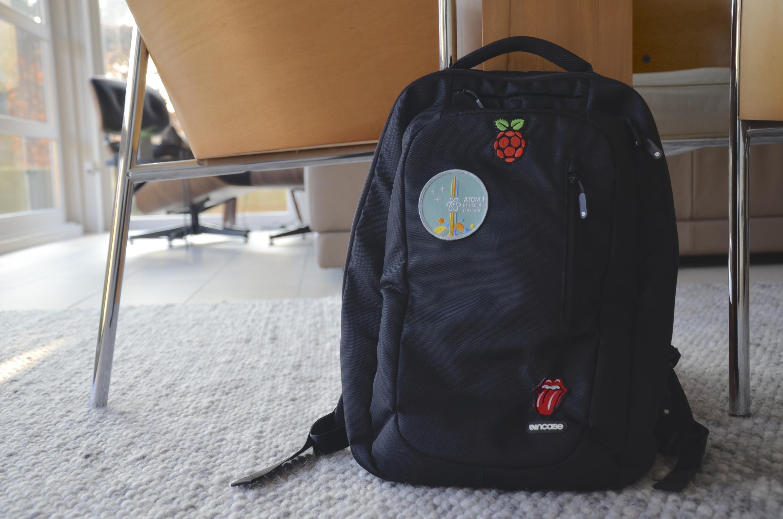 My Incase backpack