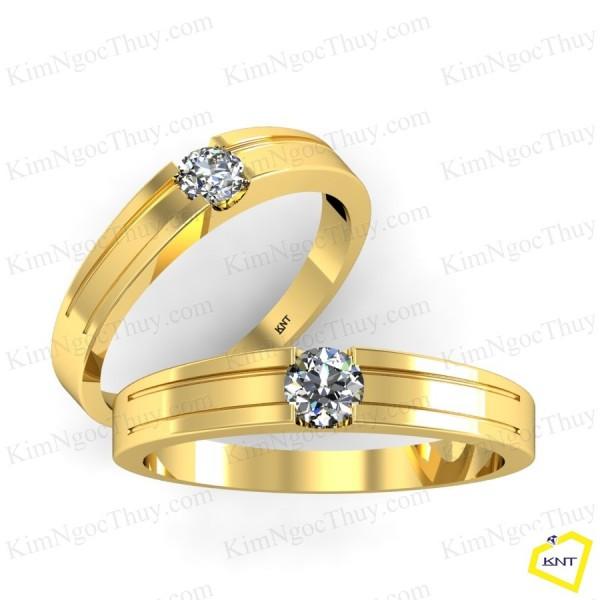 Vì sao phải chọn nhẫn cưới đính kim cương