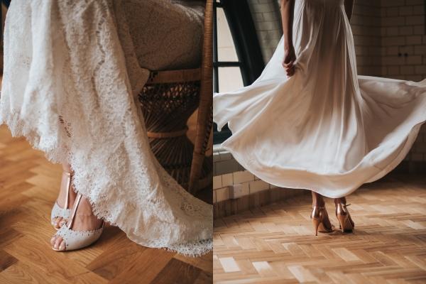 Chọn hoa cưới, váy cưới
