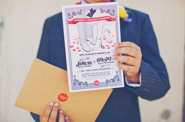 Lời mời đám cưới