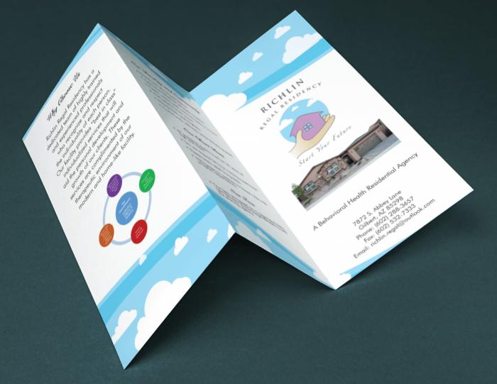 brochure gấp ba
