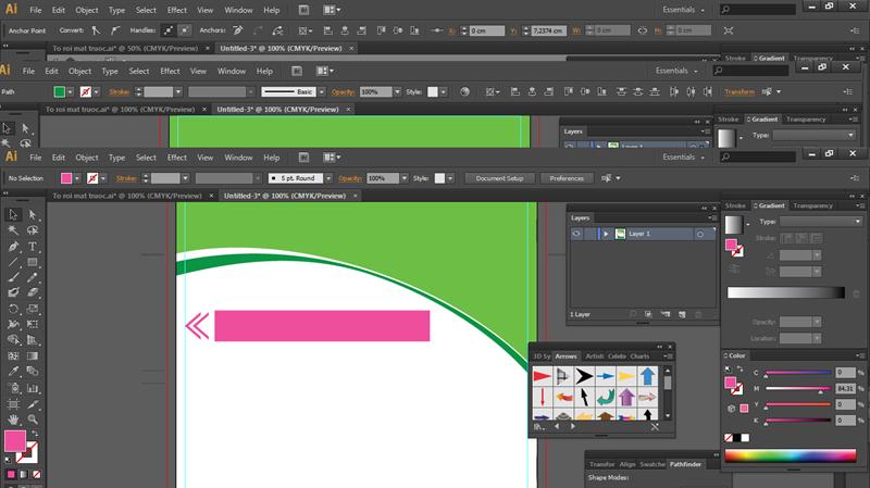 Thiết kế tờ rơi quảng cáo bằng phần mềm illustrator