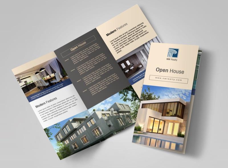Mẫu thiết kế brochure công ty bất động sản