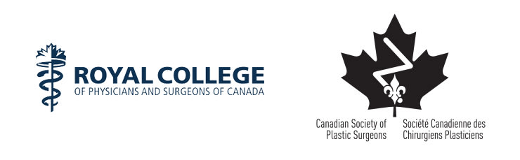 Logos of Royal College of Surgeons of Canada and Canadian Society of Plastic Surgeons.