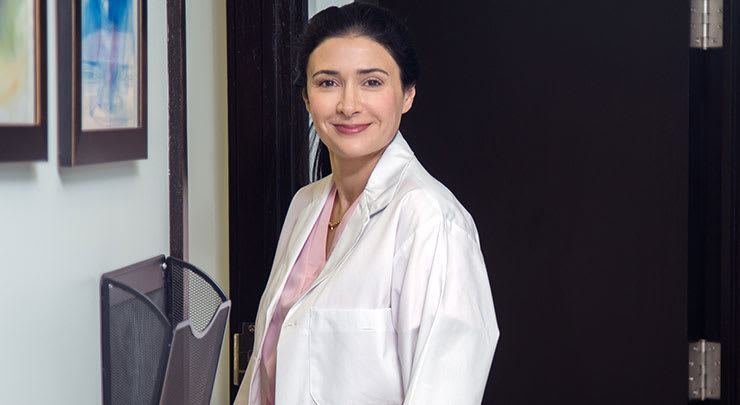 Labiaplasty plastic surgeon Dr Leila Kasrai.
