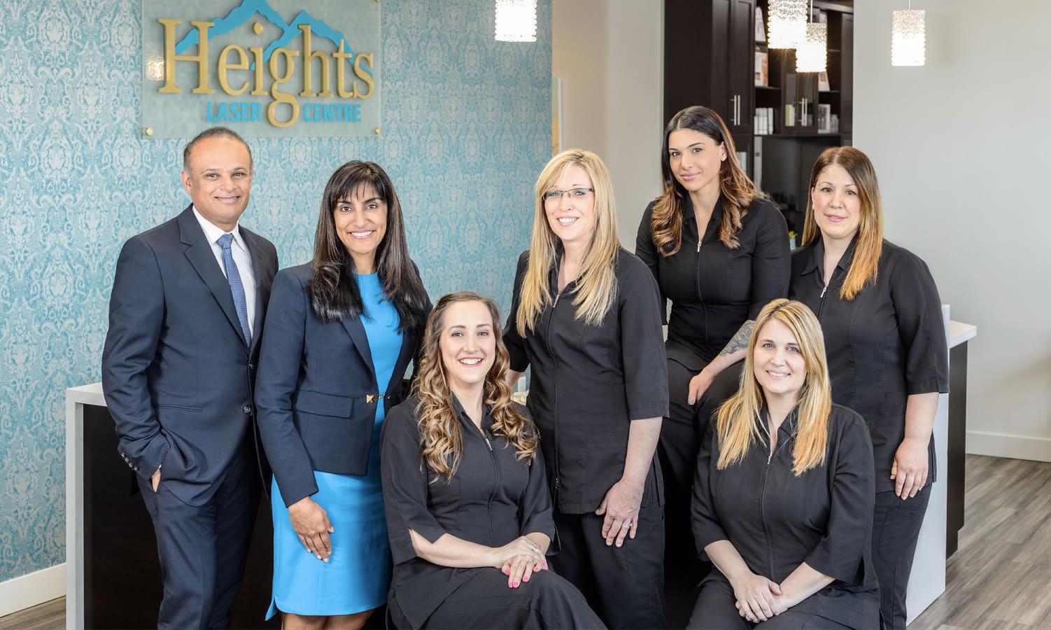 Heights laser centre medical spa staff