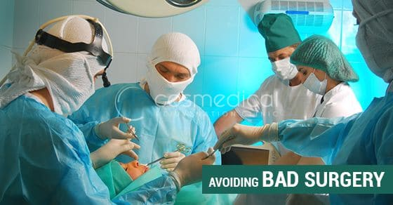 How to Avoid Bad Plastic Surgery