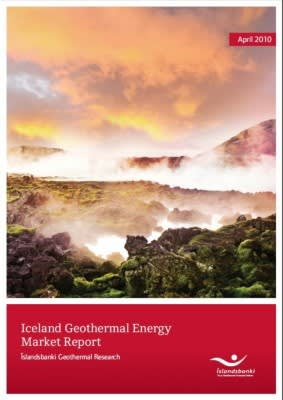New Iceland Geothermal Market Report by Íslandsbanki