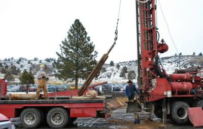 OIT at Klamath Falls starts construction on small geothermal plant