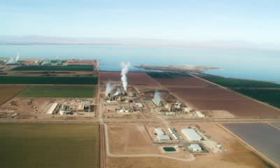 CalEnergy remarkets power from geothermal facilities in California