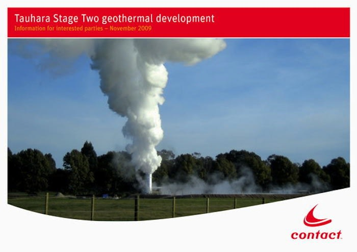 Contact Energy calls for tenders for Te Mihi project