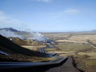 Concrete interest in an acquisition of Hellisheidi geothermal power plant in Iceland
