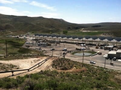 U.S. Geothermal Hosted opening ceremony for Neal Hot Springs plant in Oregon