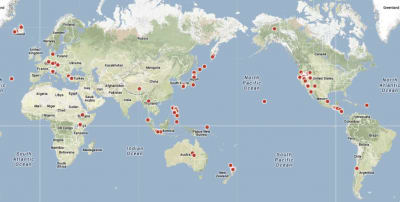ThinkGeoEnergy updates Global Geothermal Power Plant Map
