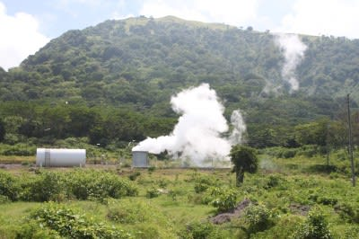 Climate change commitment and geothermal in the Caribbean