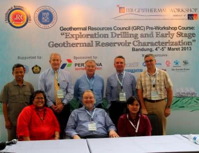 GRC Intl. Workshop at Indonesian Geothermal Conference, June 2-3, 2014