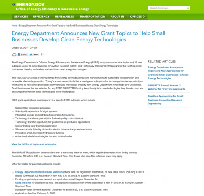 U.S. DOE grant opportunity for geothermal co-produced applications