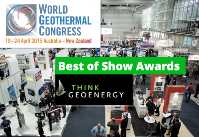 ThinkGeoEnergy Best of Show Awards for WGC2015