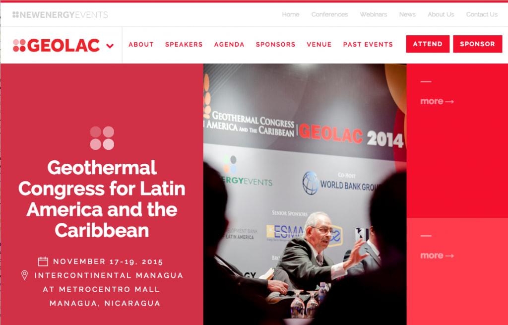 ThinkGeoEnergy & New Energy Events, Organizers of GEOLAC 2015 Announce Strategic Partnership