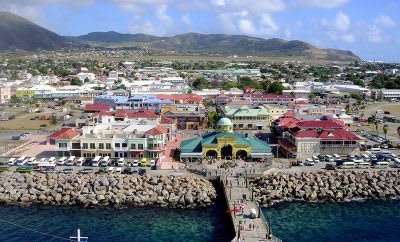 St. Kitts with reported geothermal potential estimated at 18-37 MW